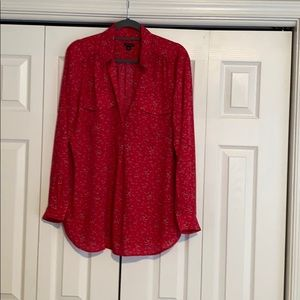 Red / pink long sleeve top. Never worn.